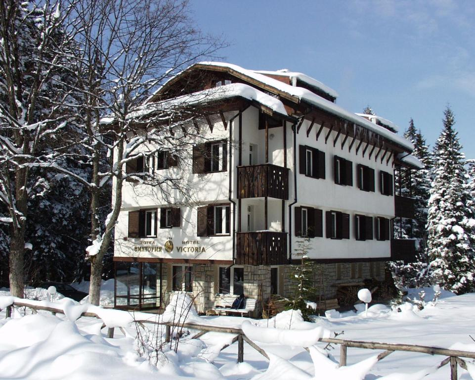 Victoria Hotel Borovets during the winter