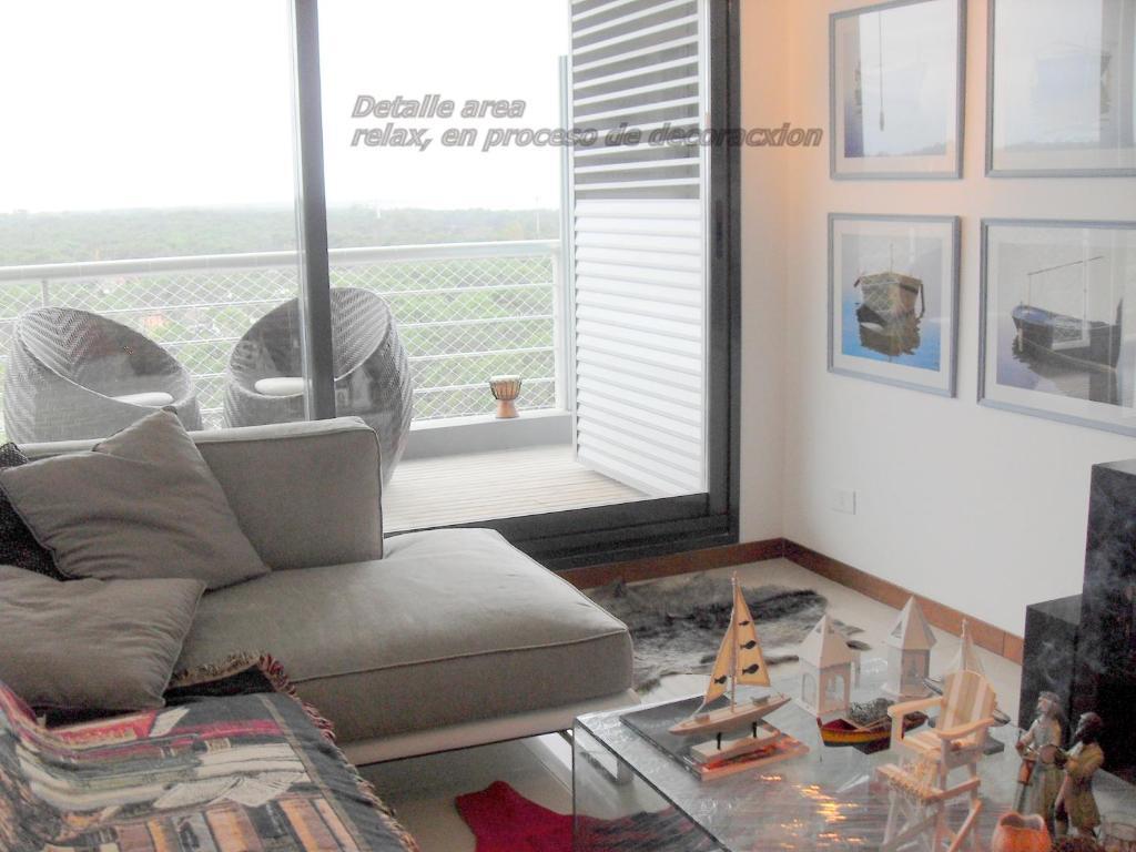 Zona de estar de Torre 360 Punta del Este