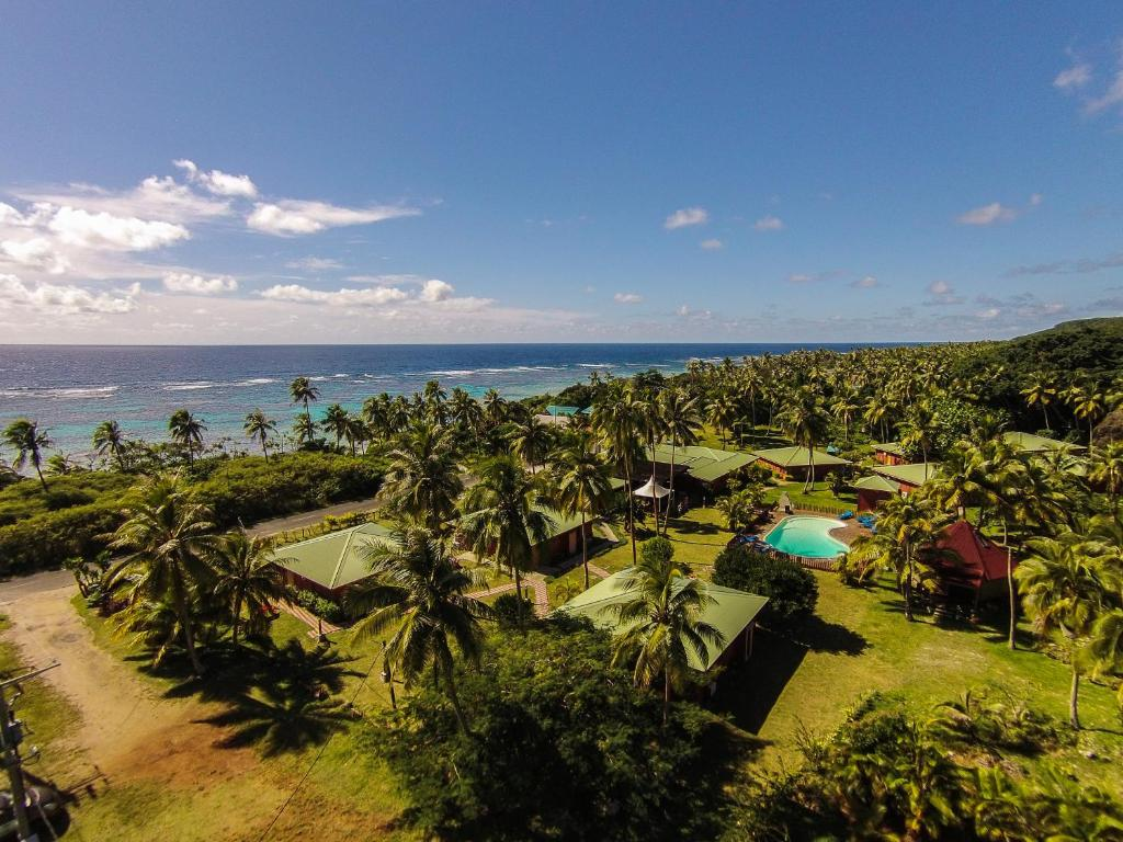 A bird's-eye view of Hotel Oasis de Kiamu