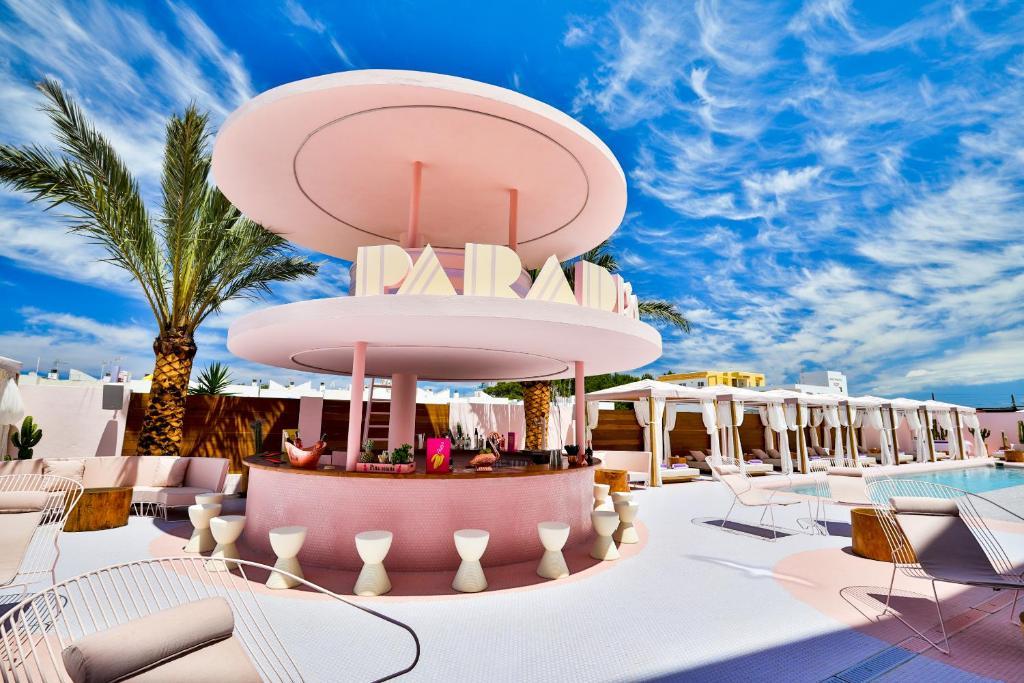 Piscina en o cerca de Paradiso Ibiza Art Hotel