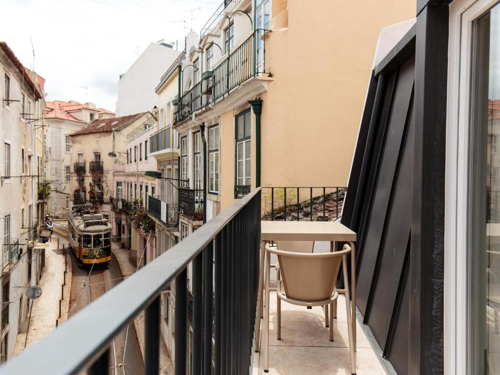 A balcony or terrace at Dear Lisbon - Living House
