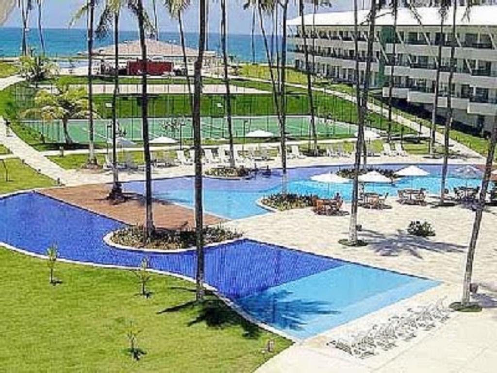 Vista de la piscina de Condominio Ancorar Flat Resort o alrededores
