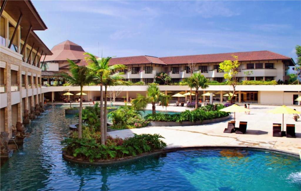 The swimming pool at or near The Singhasari Resort Batu
