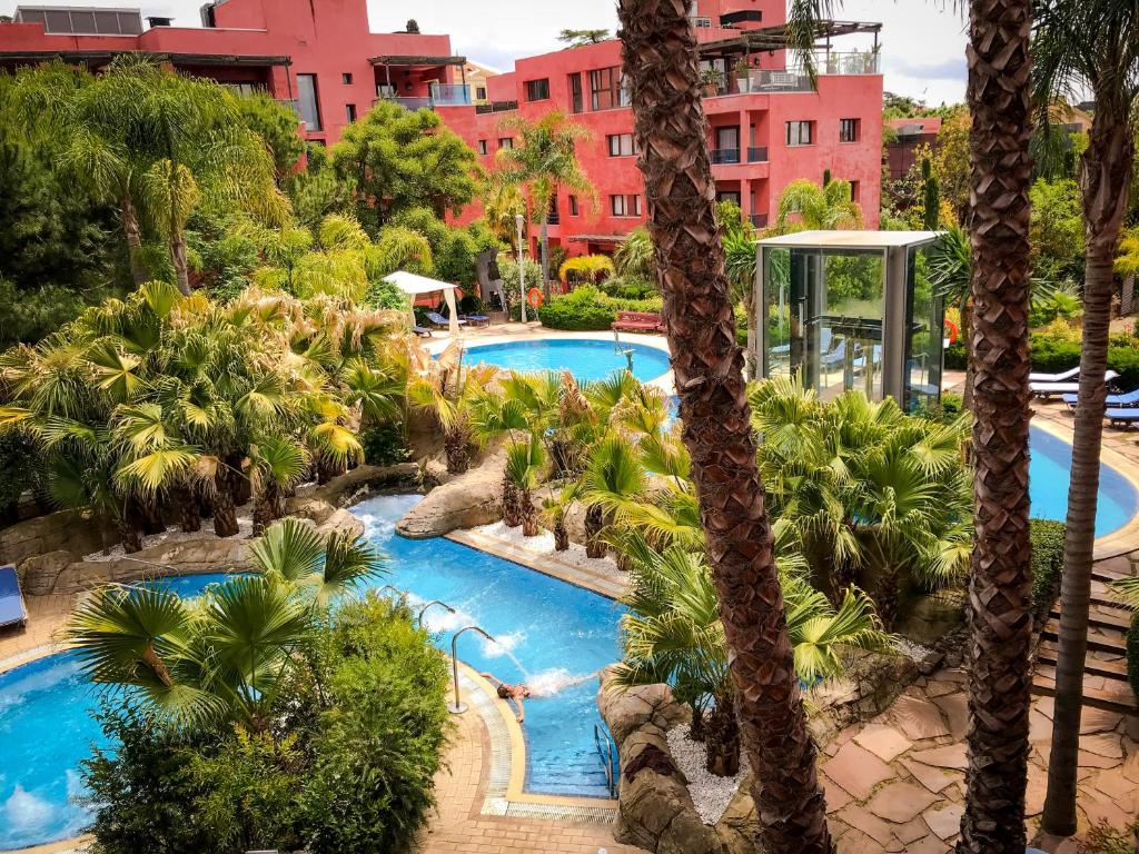 A view of the pool at Hotel Blancafort Spa Termal or nearby