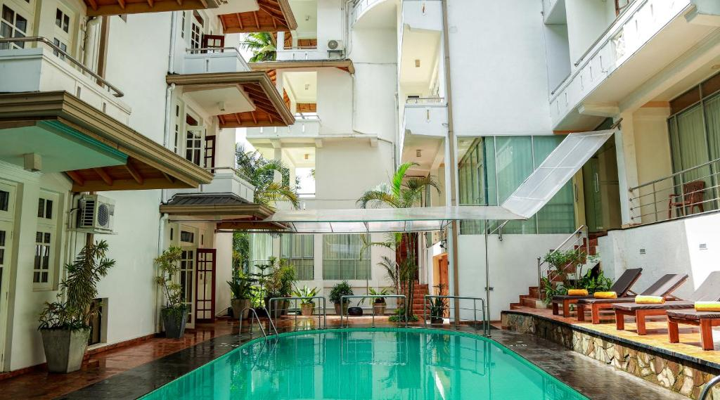The swimming pool at or near Oak Ray Serene Garden Hotel