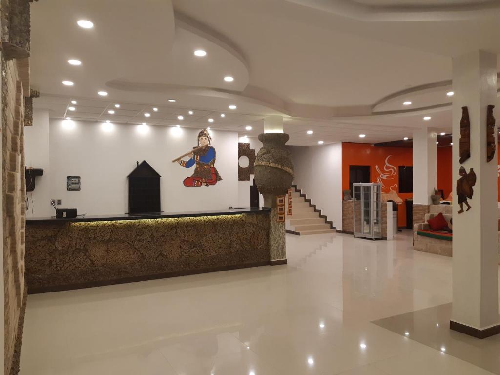 Lobbyen eller receptionen på Cristales Joyas De Sal