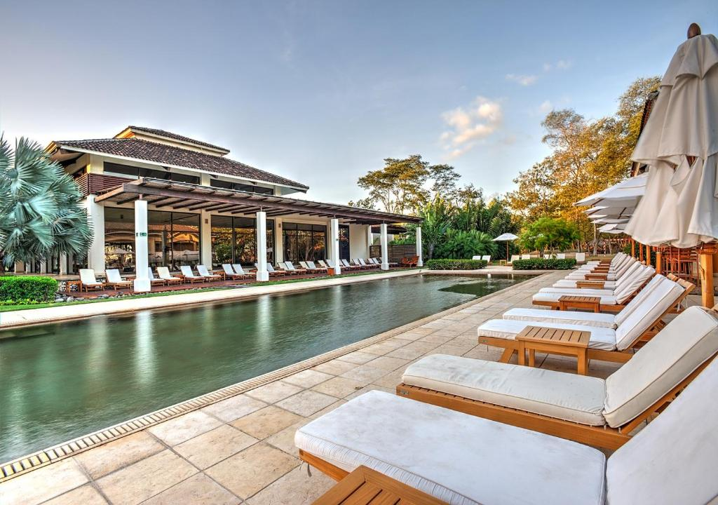 The swimming pool at or near Reserva Conchal Beach Resort, Golf & Spa