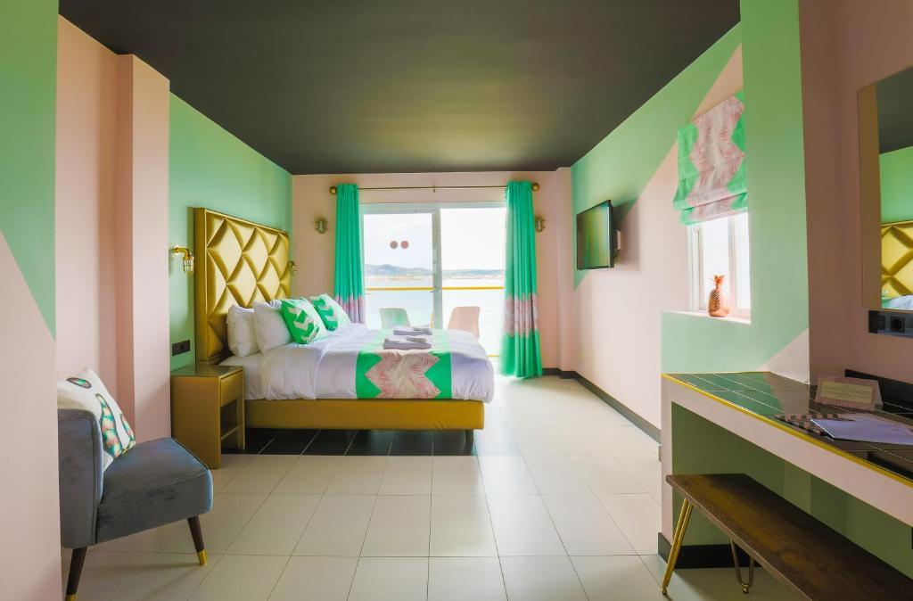 A room at Apartamentos Wi-Ki-Woo