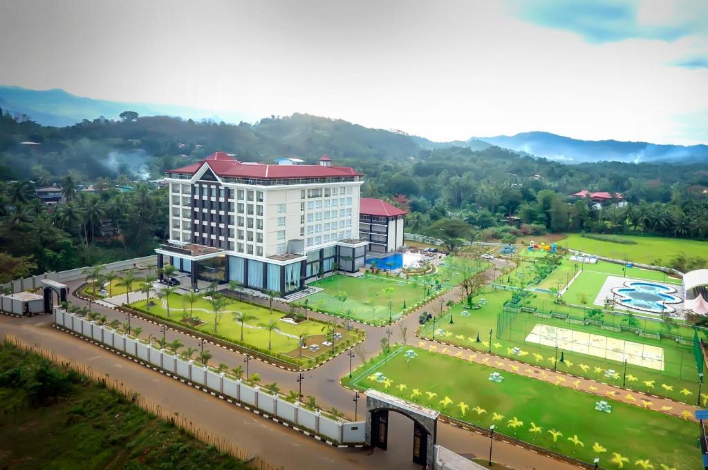 A bird's-eye view of The Grand Mountain Hotel Matale