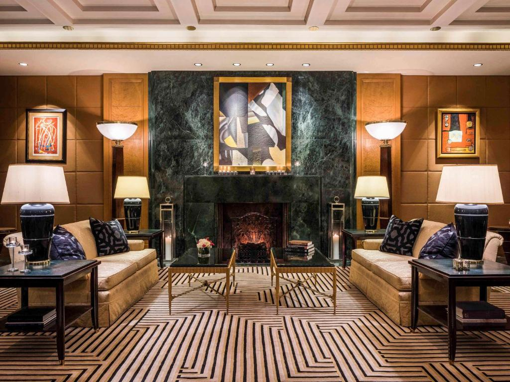 The lobby or reception area at Sofitel New York