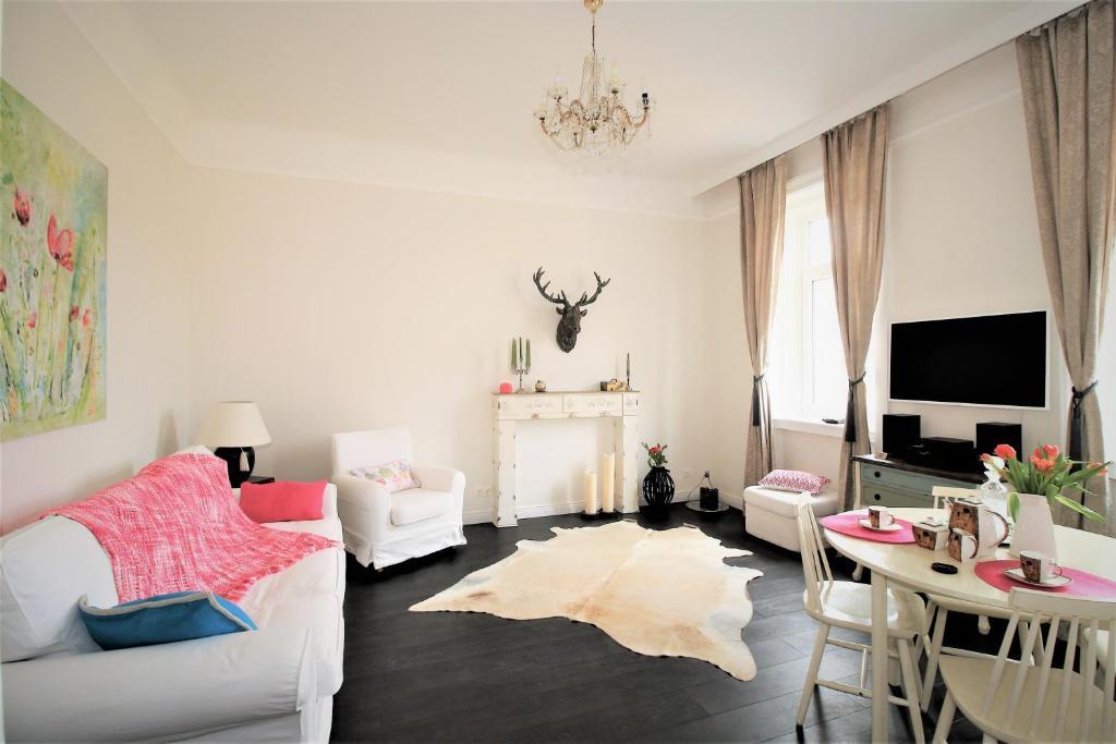 Ein Bett oder Betten in einem Zimmer der Unterkunft Alt Wien