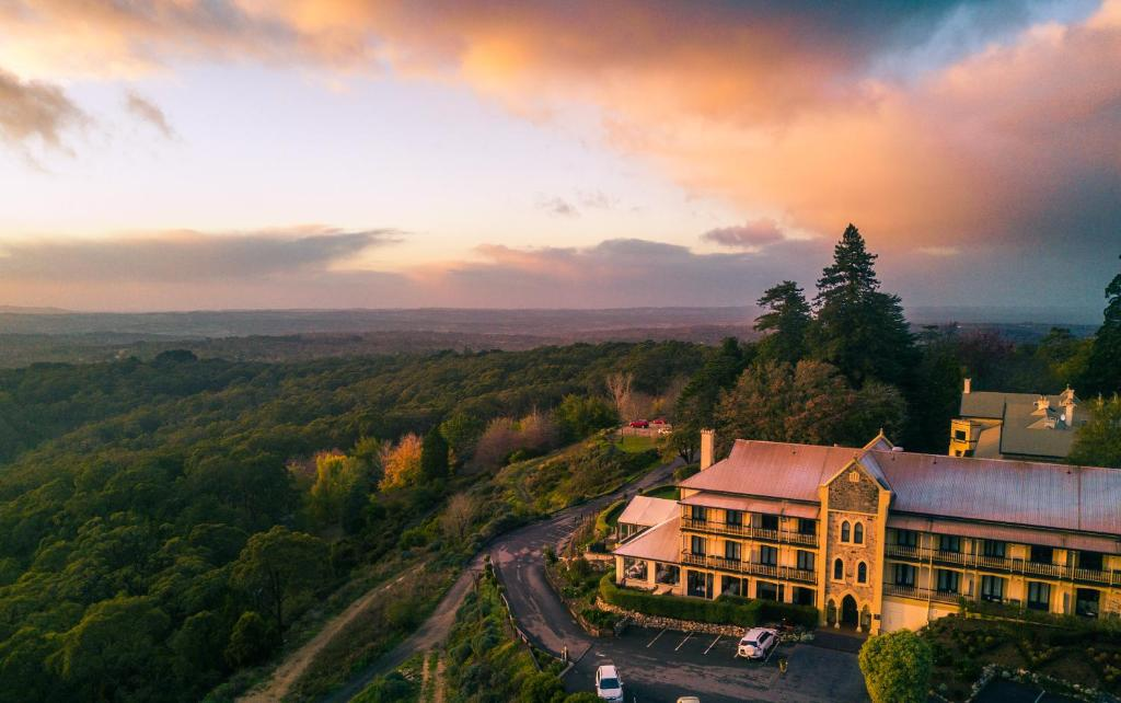 A bird's-eye view of Mount Lofty House - MGallery by Sofitel
