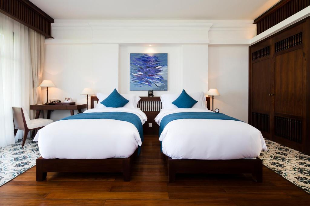 Phòng Premium 2 Giường Đơn Nhìn Ra Vườn