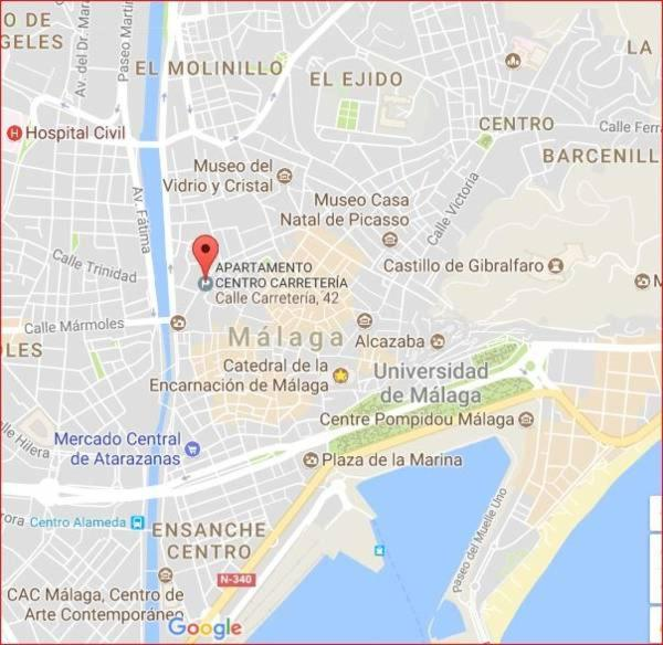Apartamento Catedral Malagueno ll, Málaga, Spain - Booking.com on map of cudillero, map of getxo, map of puerto rico gran canaria, map of bizkaia, map of penedes, map of macapa, map of monchengladbach, map of sagunto, map of graysville, map of tampere, map of mount ephraim, map of venice marco polo, map of marsala, map of iruna, map of italica, map of costa de la luz, map of soria, map of andalucia, map of isla margarita, map of mutare,