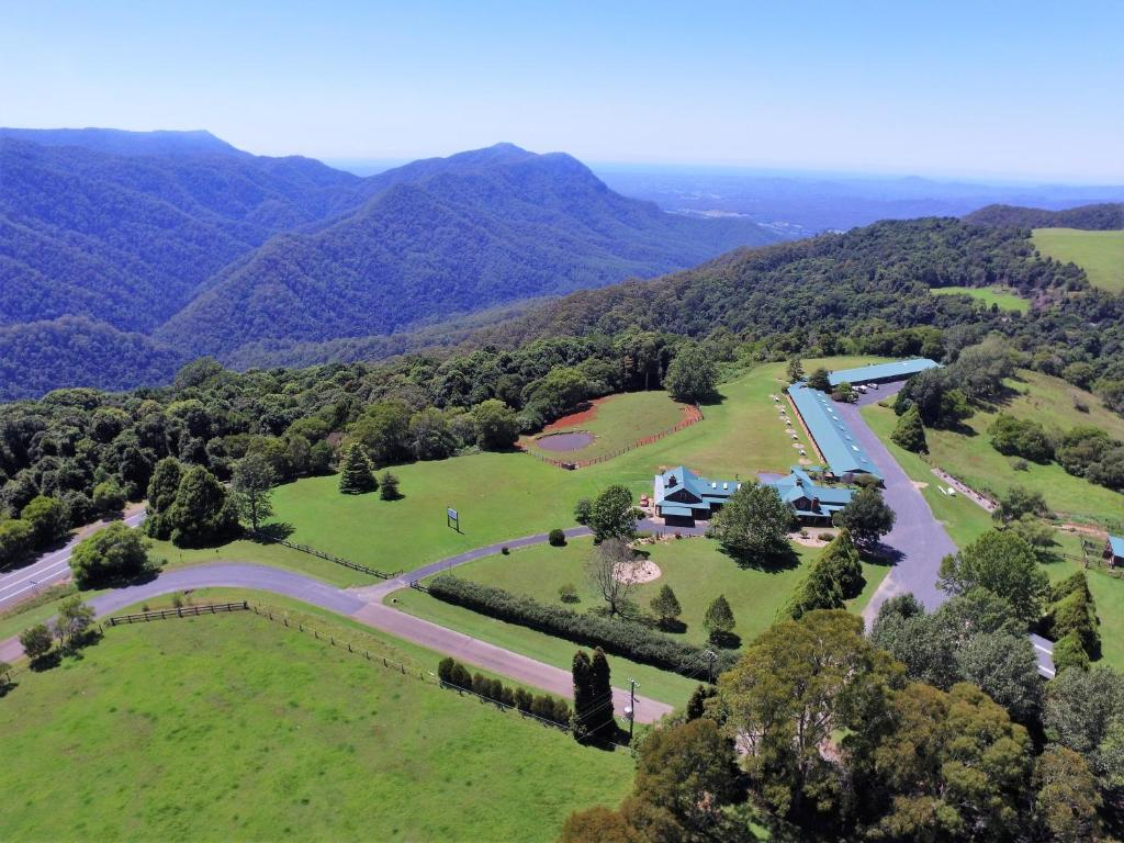 A bird's-eye view of Lookout Mountain Retreat
