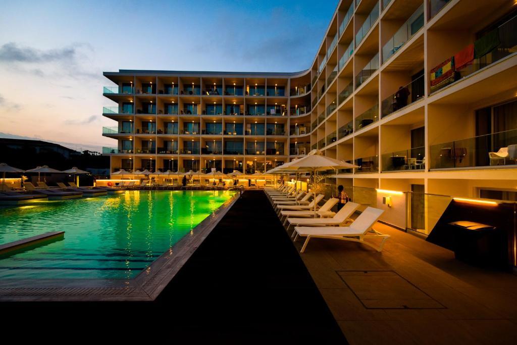 The swimming pool at or near Eleana Hotel