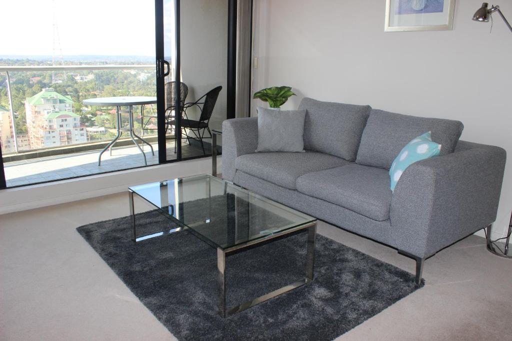 A seating area at ACLiving Serviced Apartments