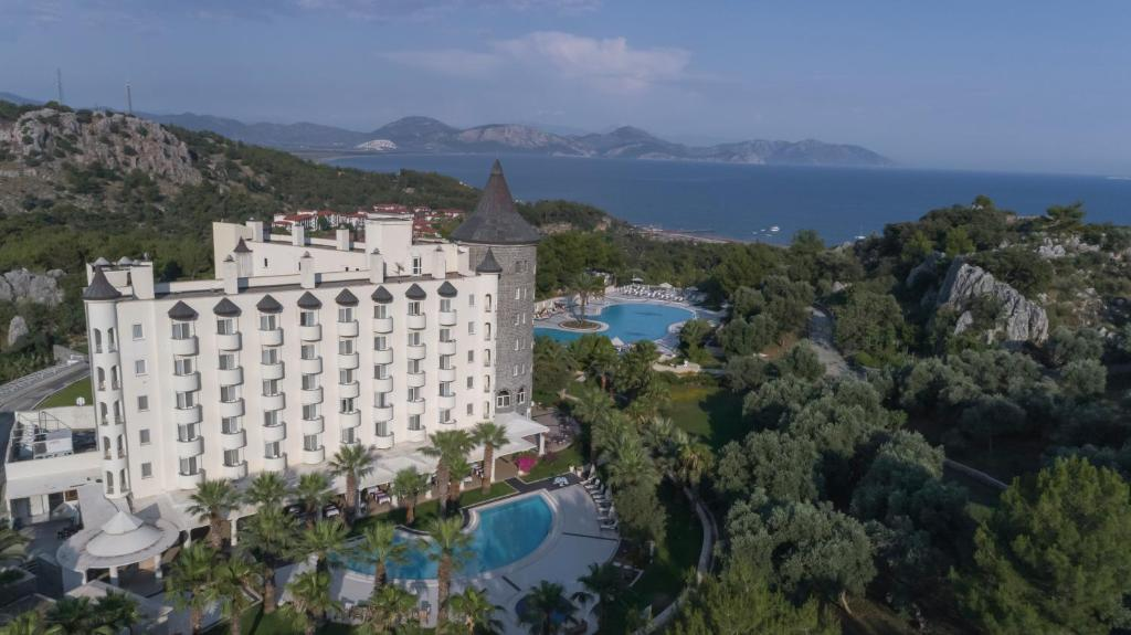 Castle Resort & SPA Hotel Sarıgerme з висоти пташиного польоту