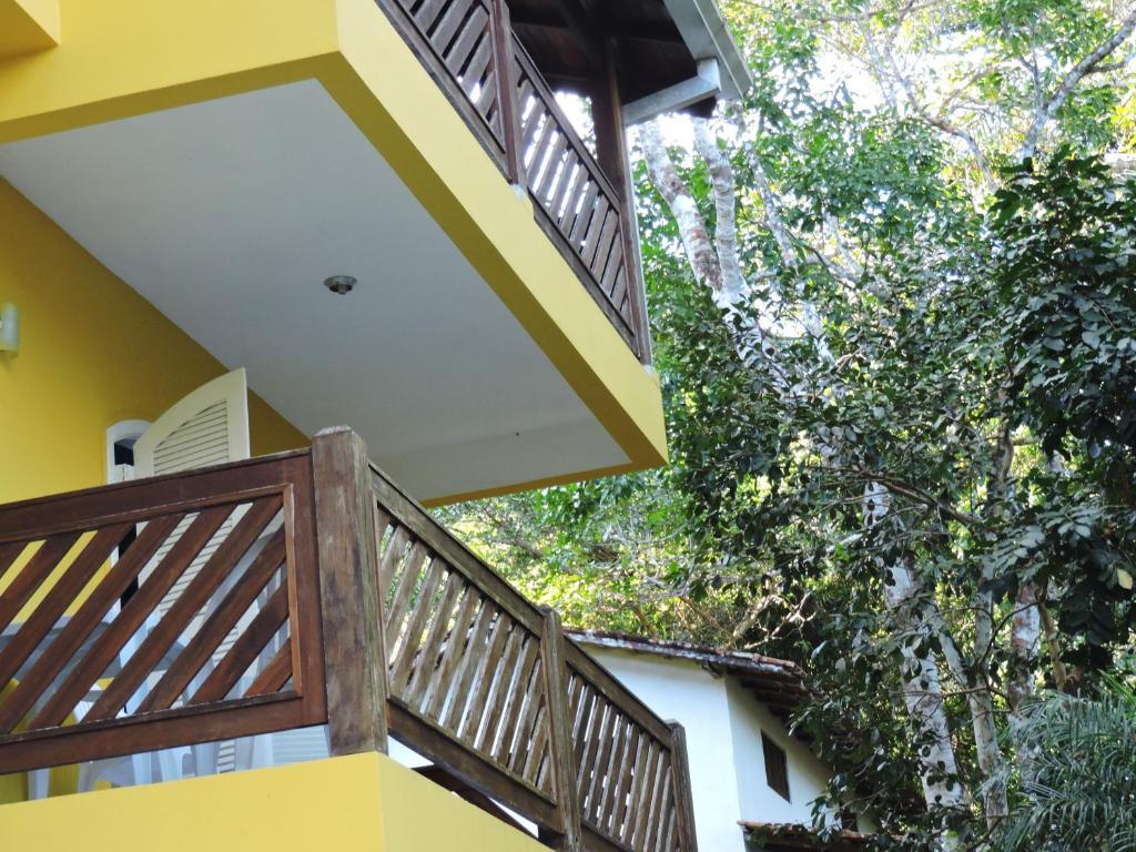 Uma varanda ou terraço em Pousada do Horto