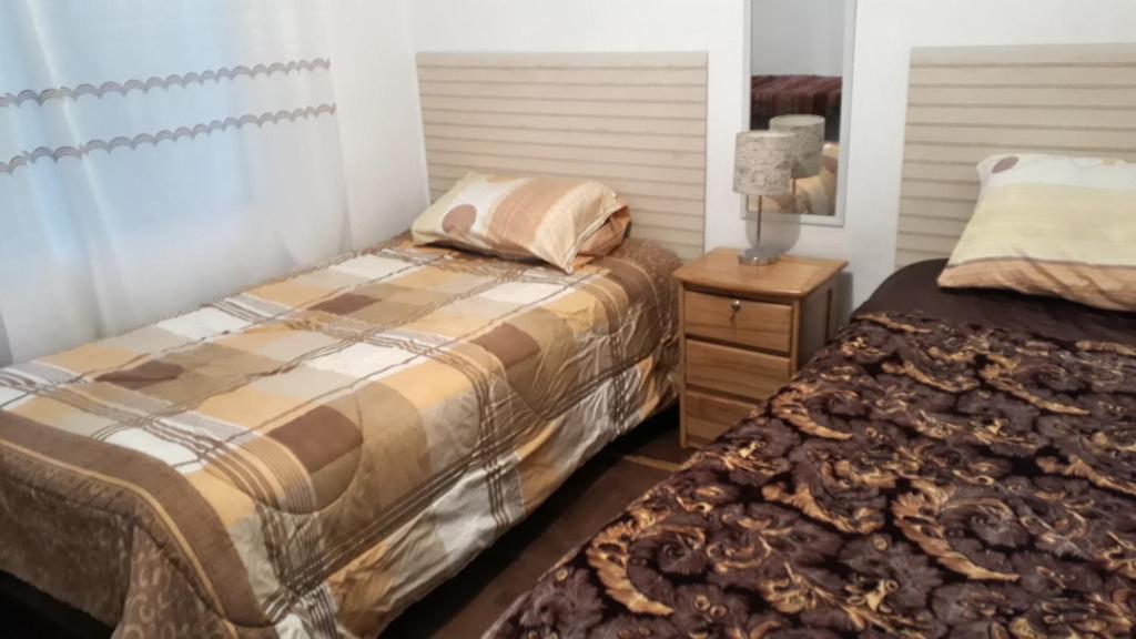 Cama o camas de una habitación en Daniel House