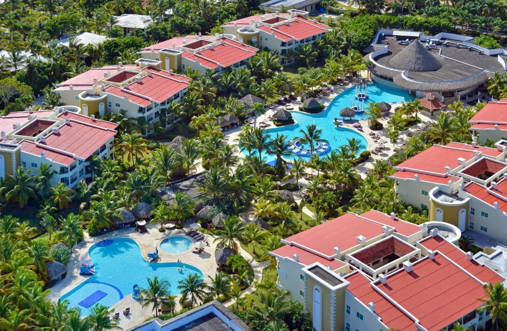 Uma vista aérea de The Reserve at Paradisus Punta Cana - All Inclusive