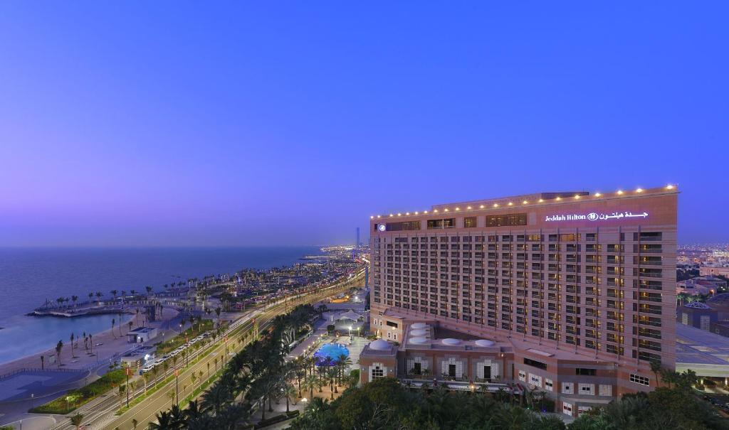 A bird's-eye view of Jeddah Hilton