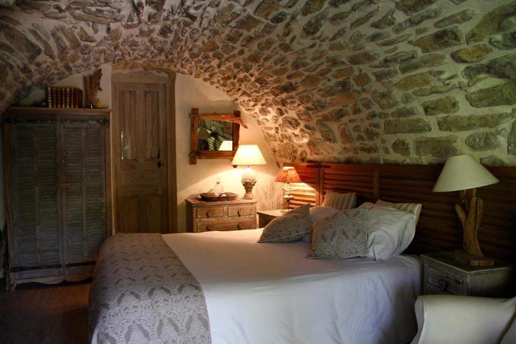 Un ou plusieurs lits dans un hébergement de l'établissement Mas de la Filoselle