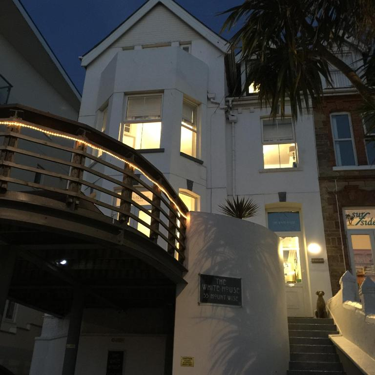 The White House in Newquay, Cornwall, England