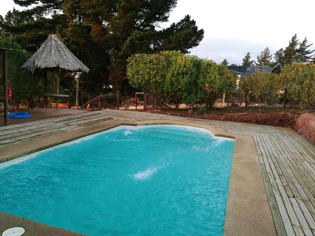 lodge con piscina privada, parcela de campo. (Chile ...