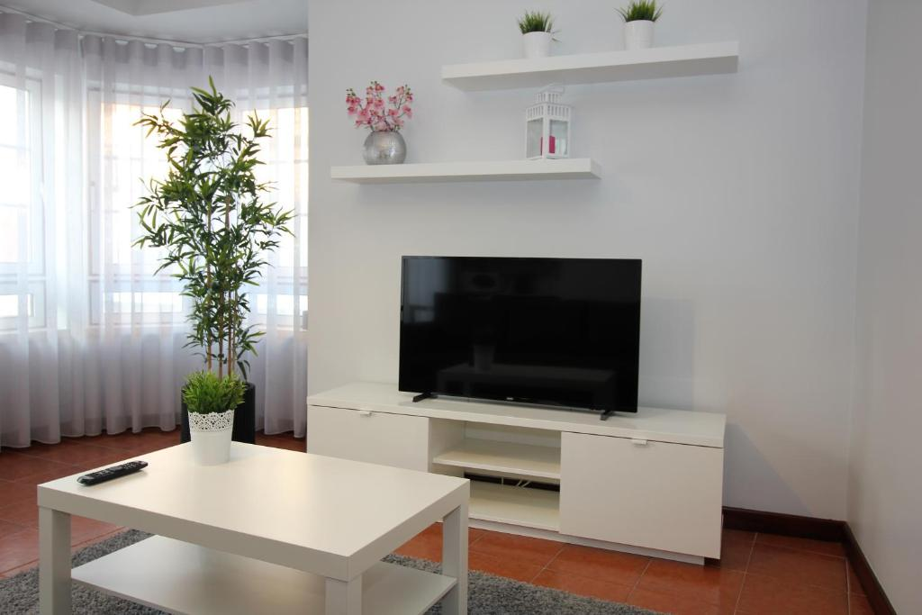 A television and/or entertainment center at Subvilla Beach Place