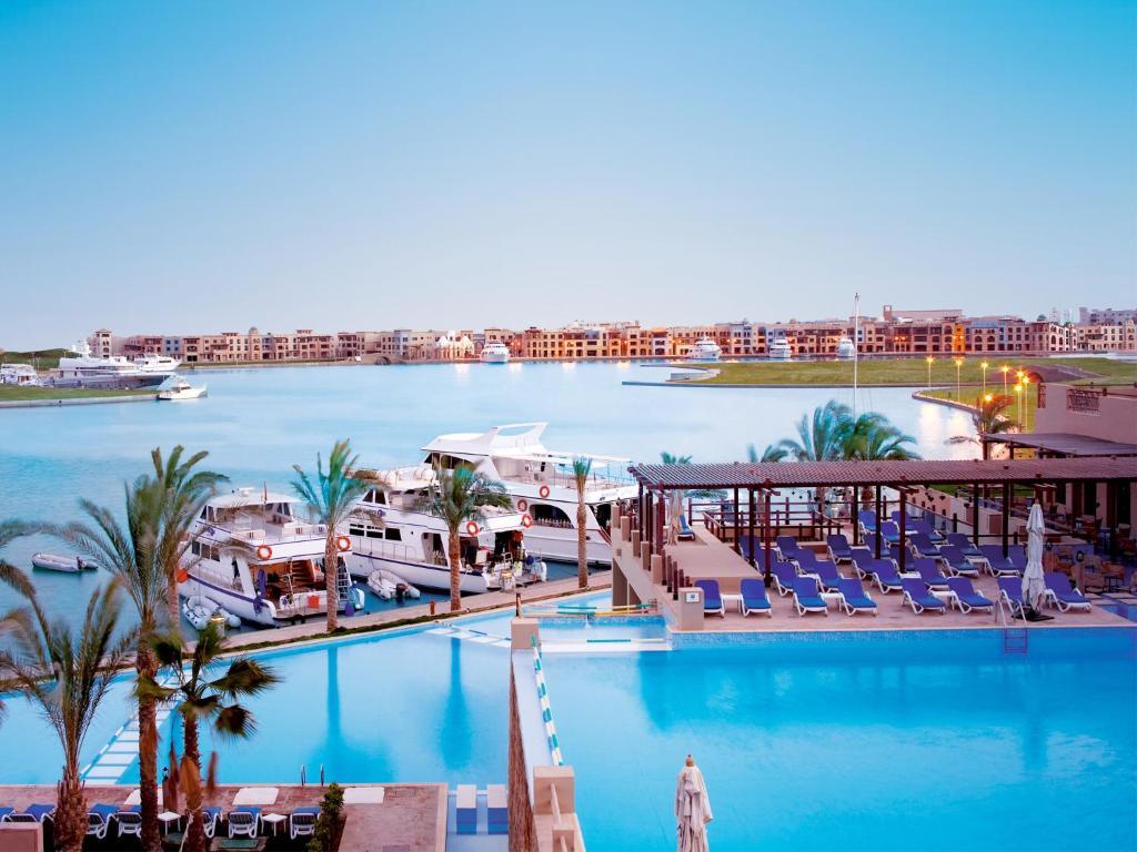 The swimming pool at or near Marina Lodge at Port Ghalib