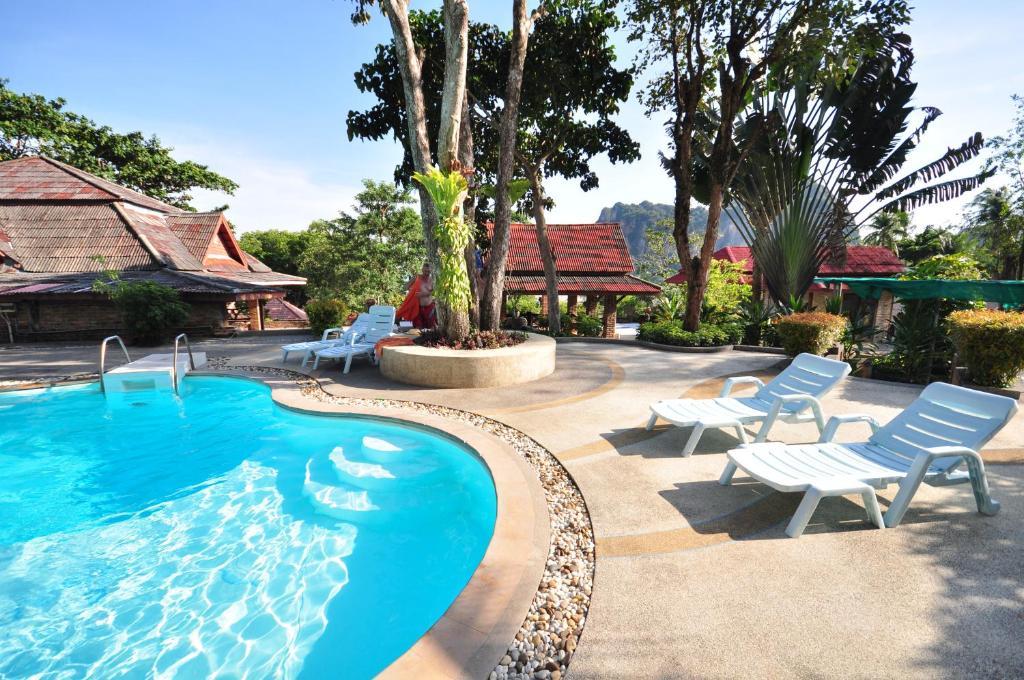 Der Swimmingpool an oder in der Nähe von Railay Viewpoint Resort