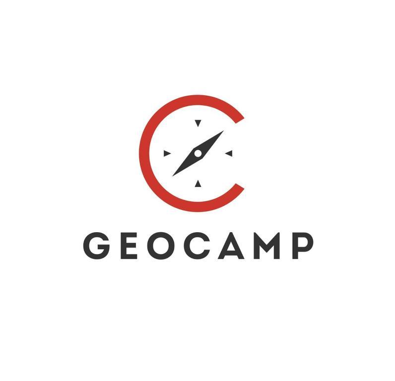 Das Logo oder Schild des Campingplatzes
