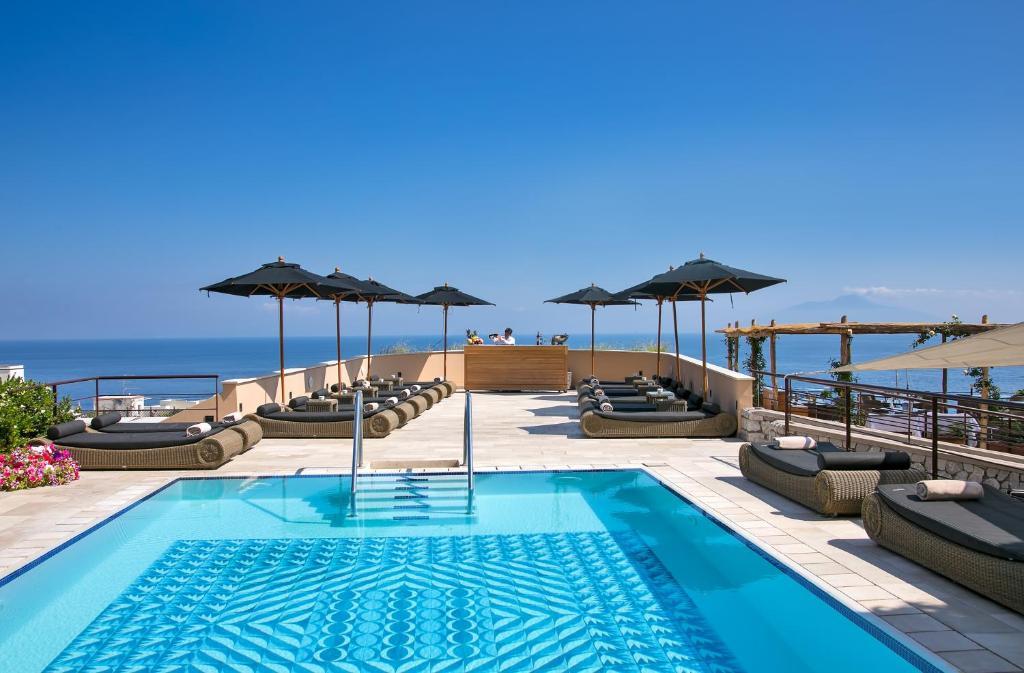 Piscina en o cerca de Villa Marina Capri Hotel & Spa