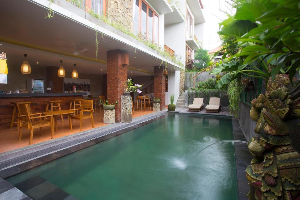 The swimming pool at or near Ning Bisma Ubud
