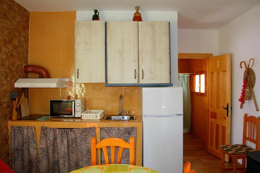 Una cocina o zona de cocina en Alojamiento Buena Vista