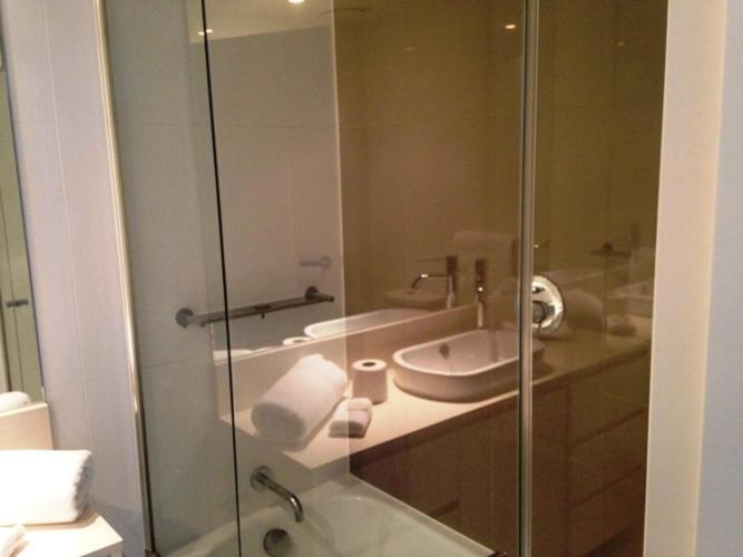 A bathroom at GCA@THE H RESIDENCES