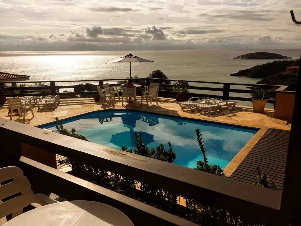 A view of the pool at Buzios San Francisco or nearby