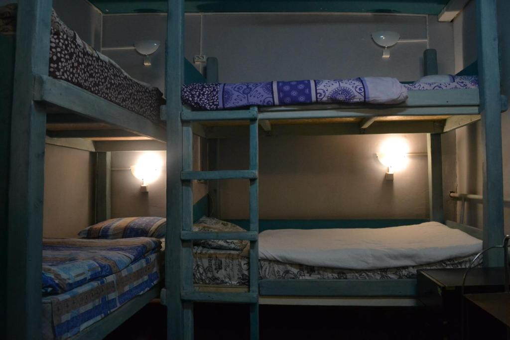 A bunk bed or bunk beds in a room at «Horizontal»