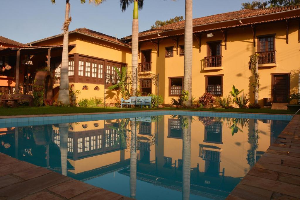 The swimming pool at or near Pousada Maria Barbosa Tiradentes