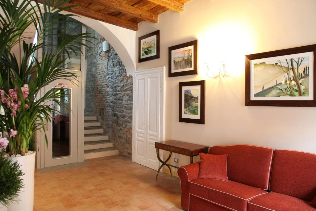 Hall o reception di Hotel Borgo Antico