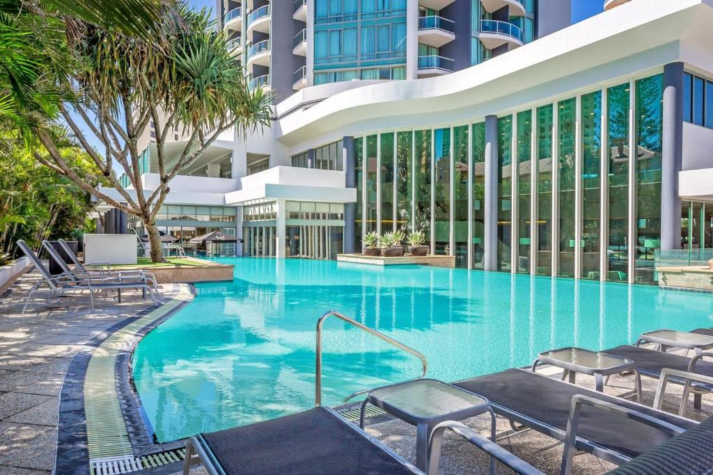 The swimming pool at or near Seasun Legends Hotel