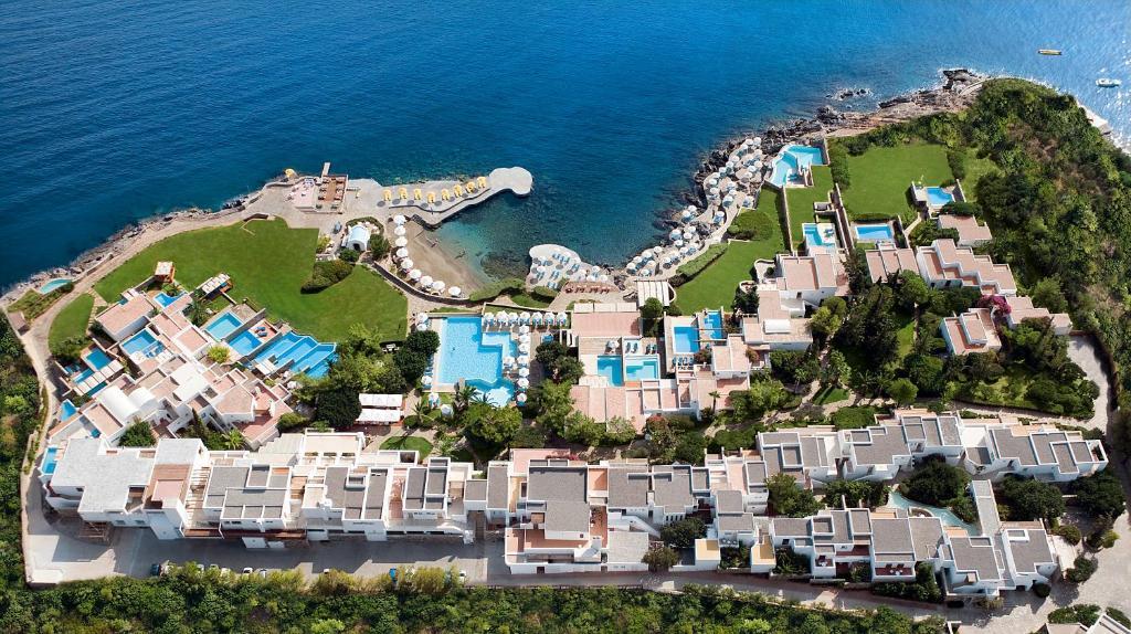 A bird's-eye view of St. Nicolas Bay Resort Hotel & Villas