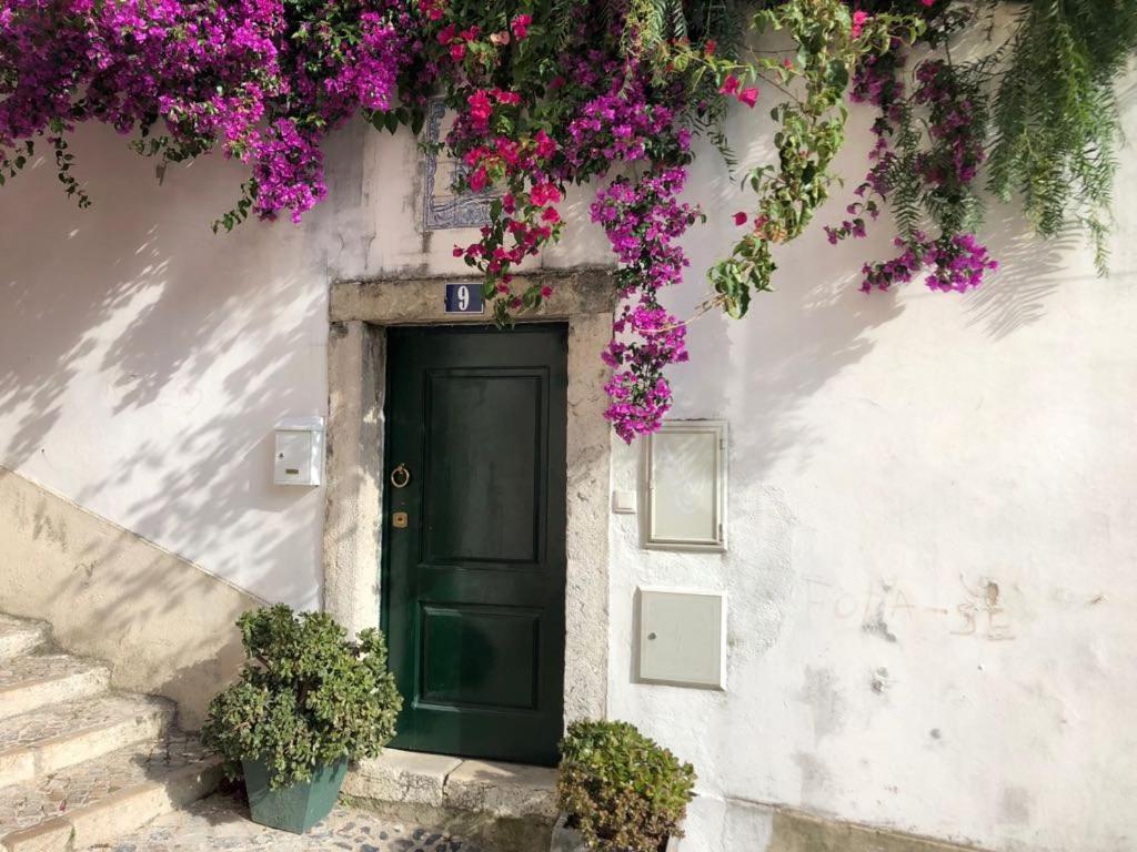 A fachada ou entrada de Casa Da Lucia