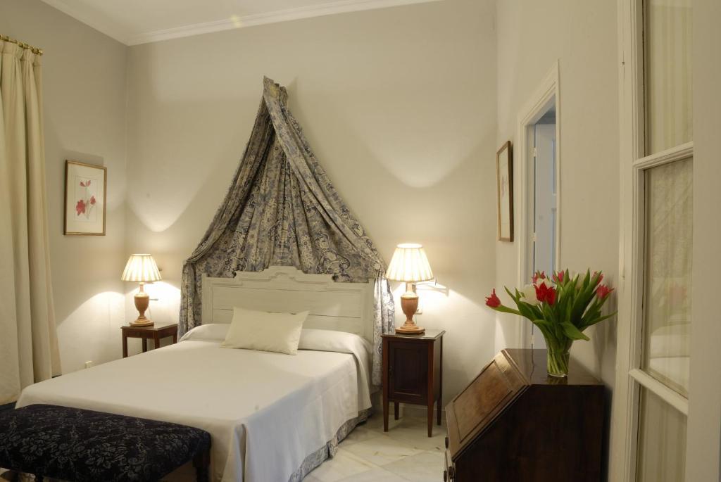 Säng eller sängar i ett rum på Casa Número 7