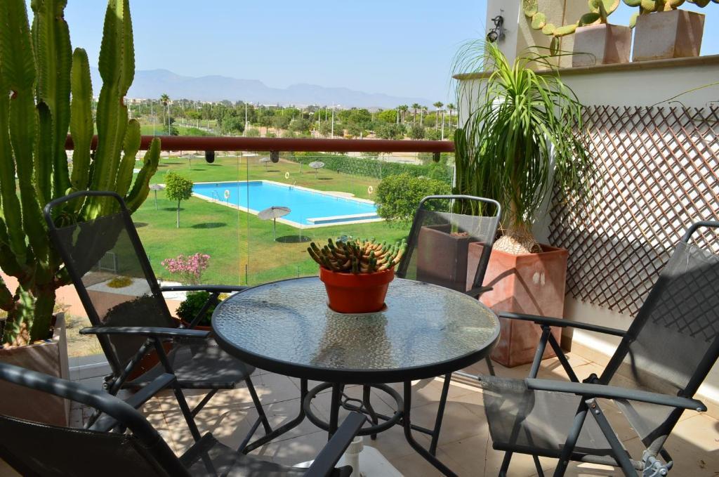 Apartamento Alborán-El Toyo, Retamar, Spain - Booking.com