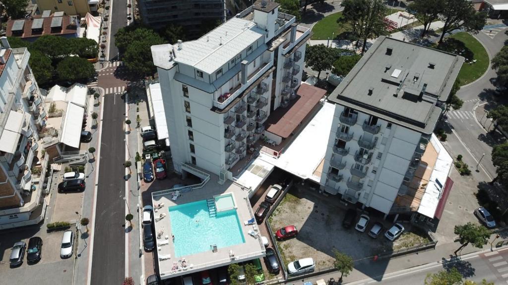 Hotel Alla Rotonda с высоты птичьего полета