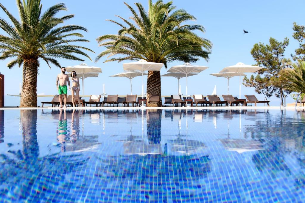 The swimming pool at or near Alexandra Beach Spa Resort