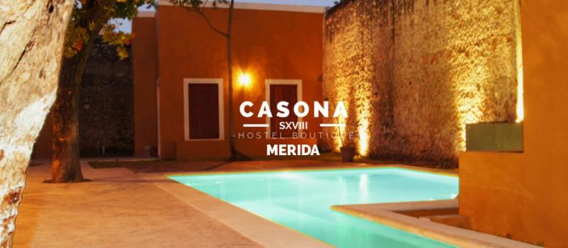 The swimming pool at or near Casona Hostel Boutique