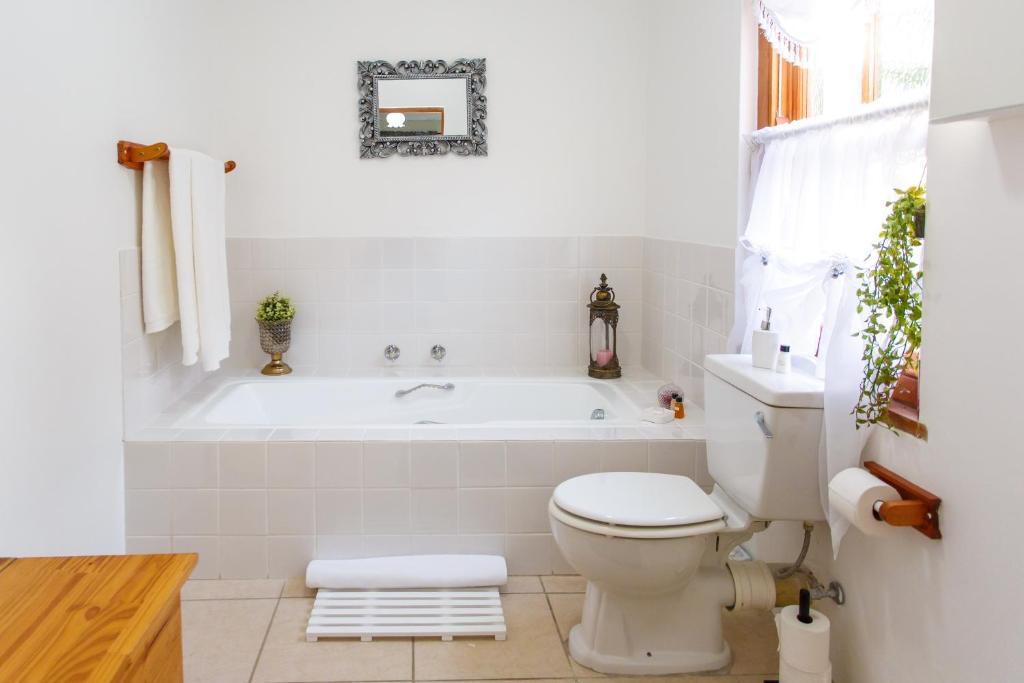 A bathroom at Kabbelrus